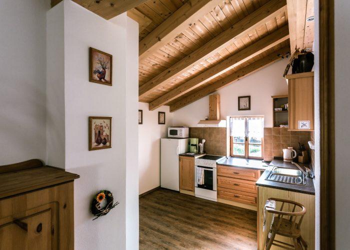 Kuchyň v Roubence u Huvarů